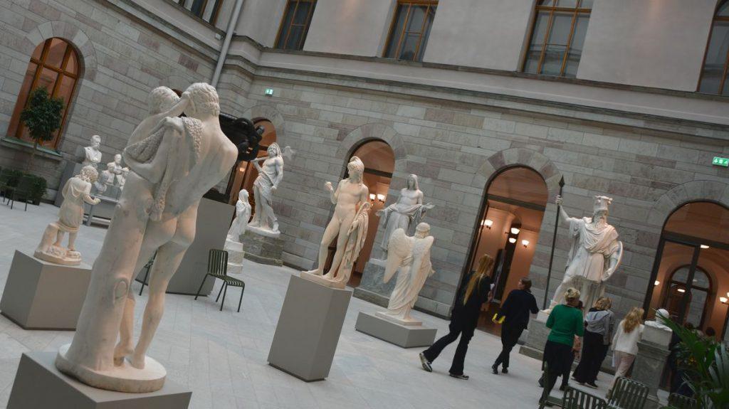 Skulpturgård Nationalmuseum