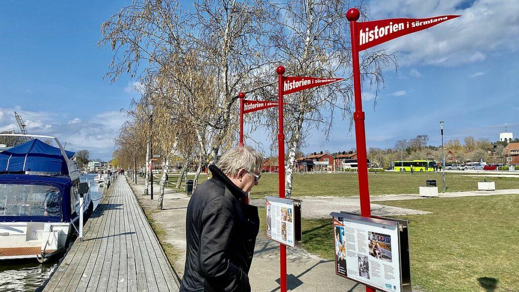 Göra i Trosa - läsa historiska skyltar