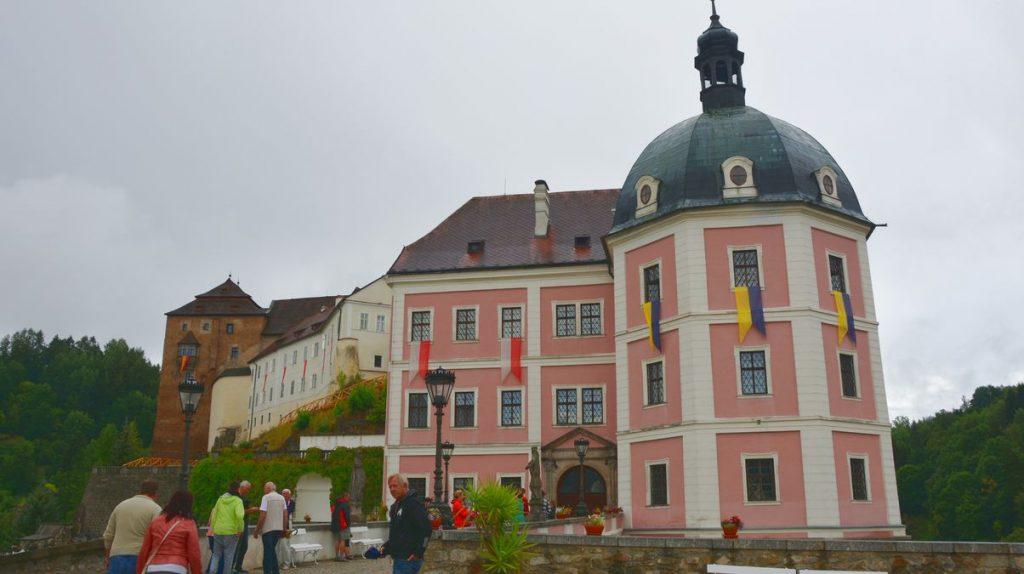 Slottet i Becov nad Teplou