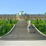 Potsdam i Tyskland – och slottet Sanssouci
