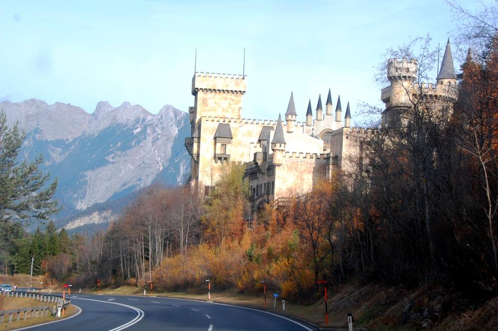 Slott i Österrike