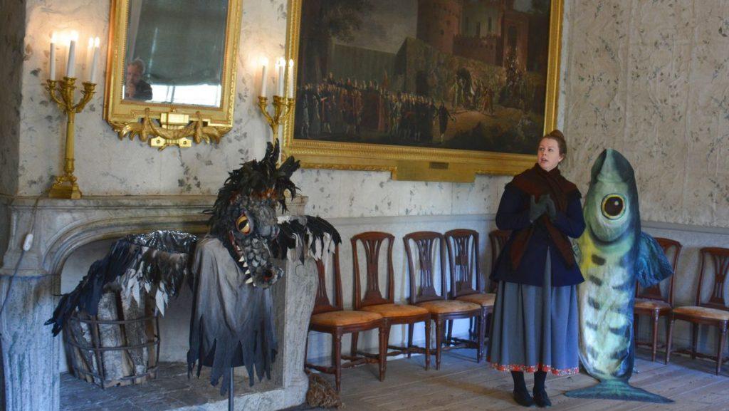 Slottsteatern Drottningholms slott i Stockholm