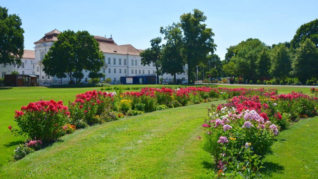 Slottsträdgård Oranienburg