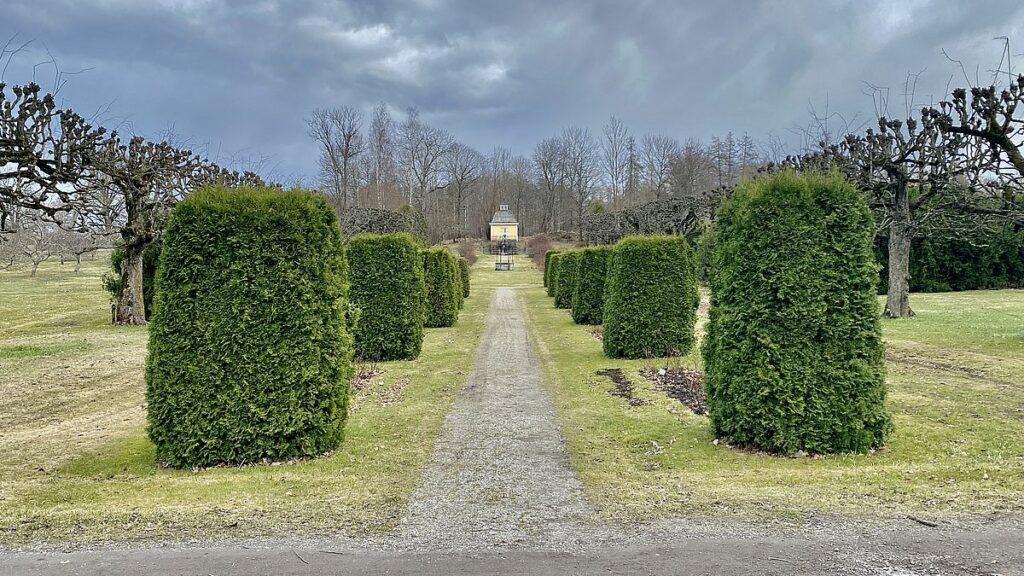 Julita gård slottsträdgård