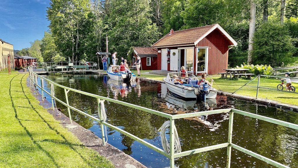 dalslands kanal med husbil - Dals Långed