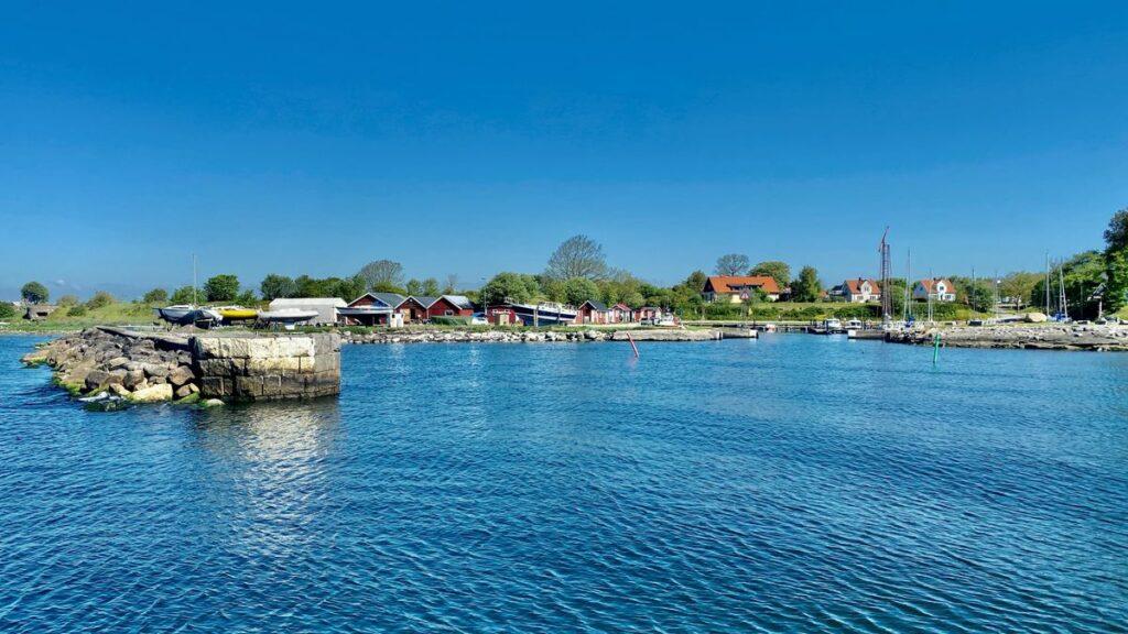 Hamnen i Smygehuk - Sveriges sydligaste udde