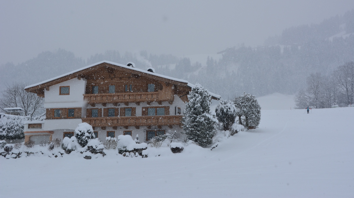Snö i Österrike