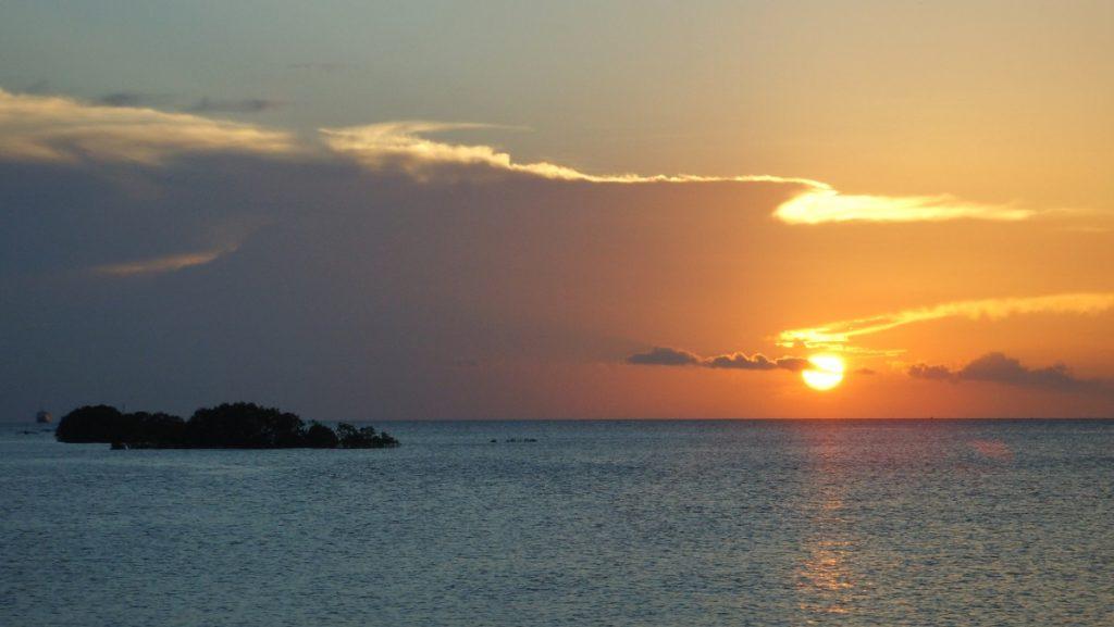 Solnedgång Afrika