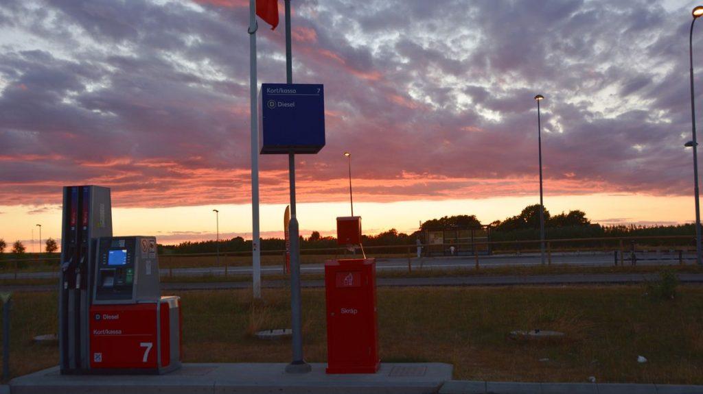Solnedgång Trelleborg