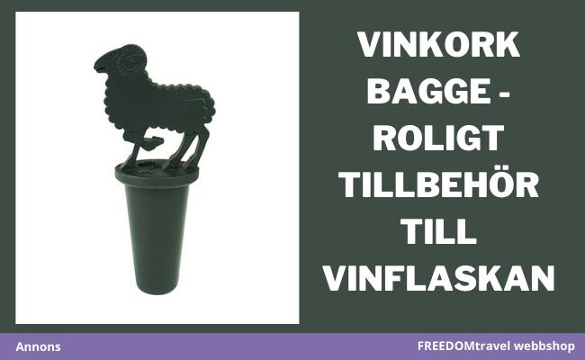 Vinkork bagge