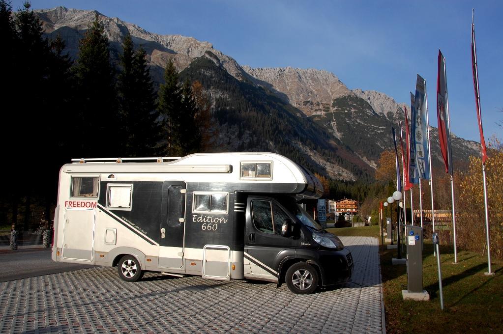 Campingar och Ställplatser i Österrike