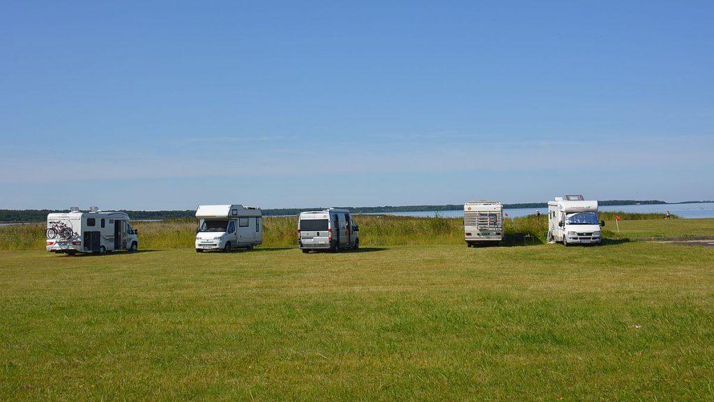 Haapsalu - med husbil i Estland