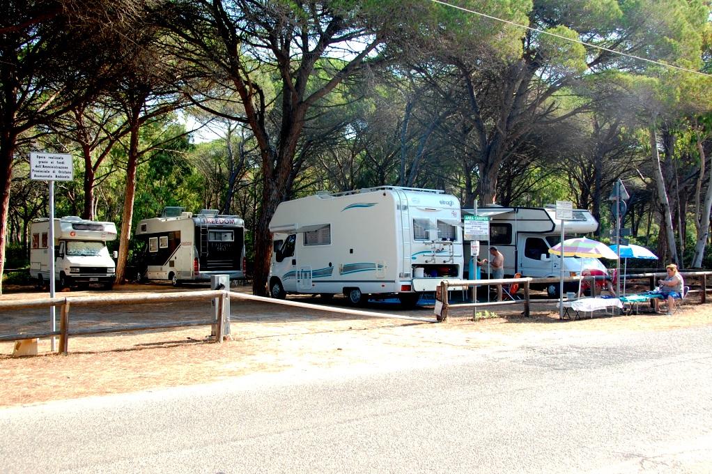 Ställplatser på Sardinien: Arborea