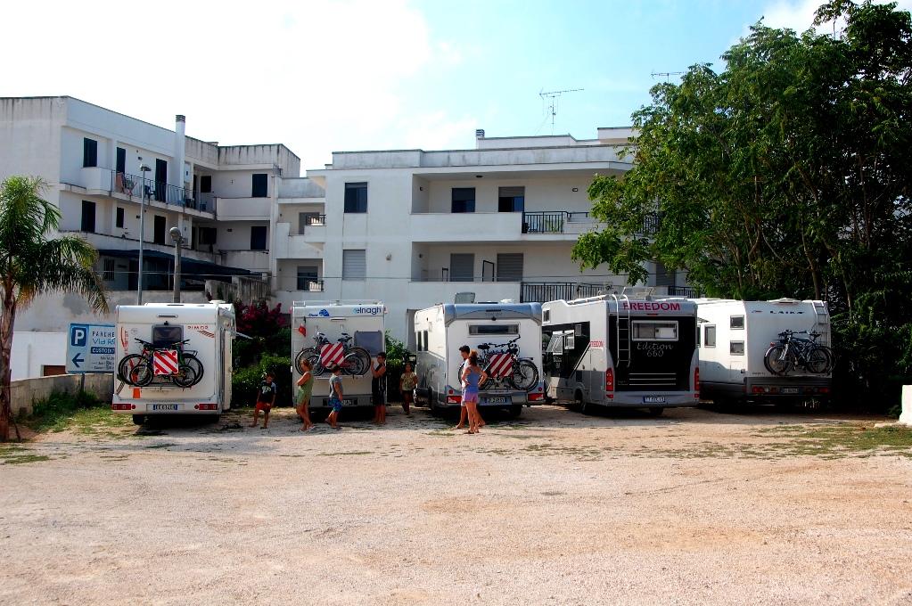 Ställpatser i Italien: Otranto