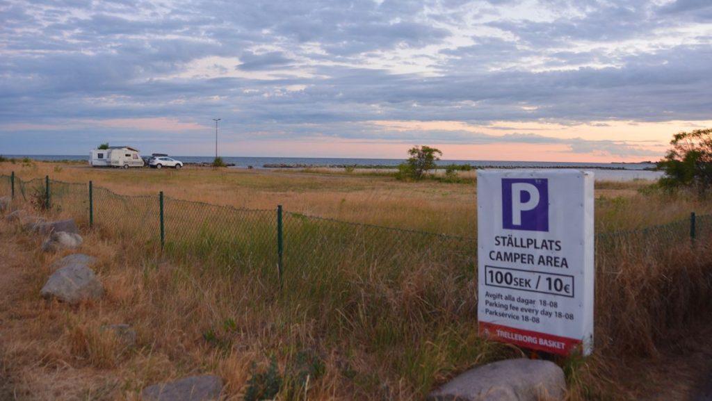 Husbilsplats Trelleborg