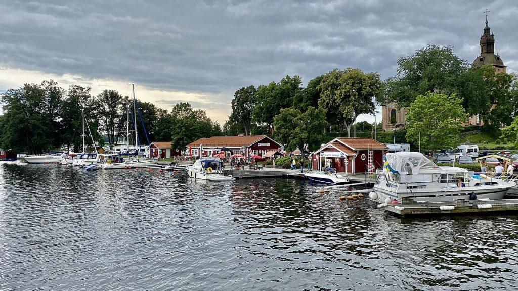 Hamn och ställplats i Askersund