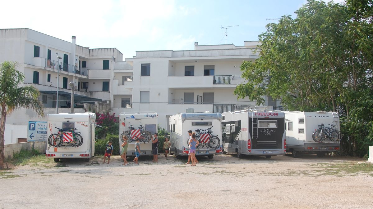 Ställplats i Otranto