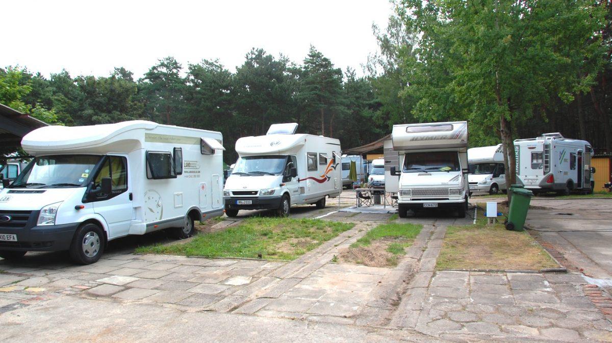 Camping och ställplatser i Polen