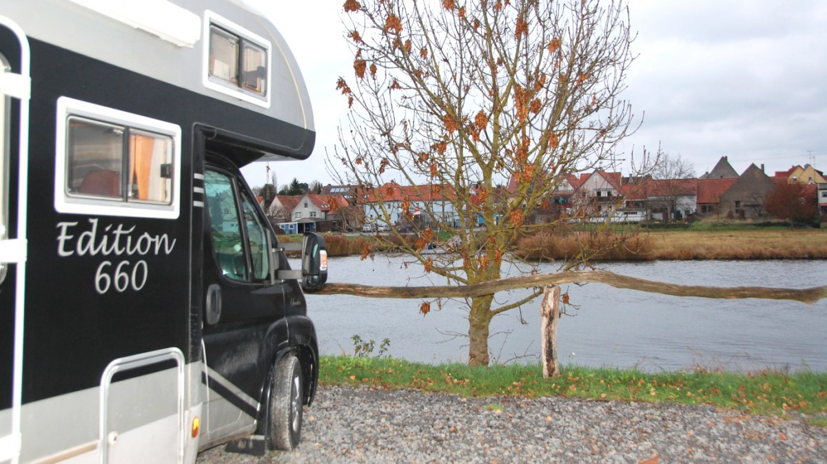 Ställplatser i Tyskland