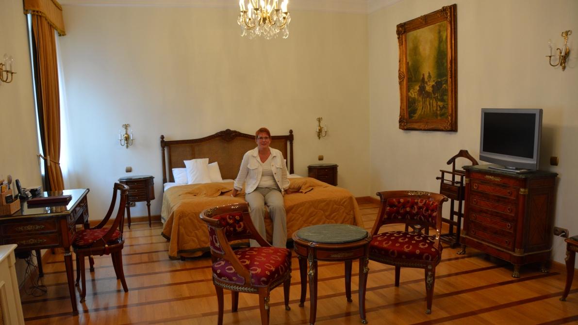 I vårt rum på St George Residence