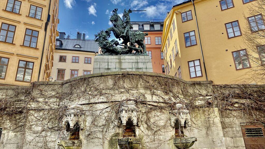 Sevärdheter i Gamla stan - Sankt Göran och draken