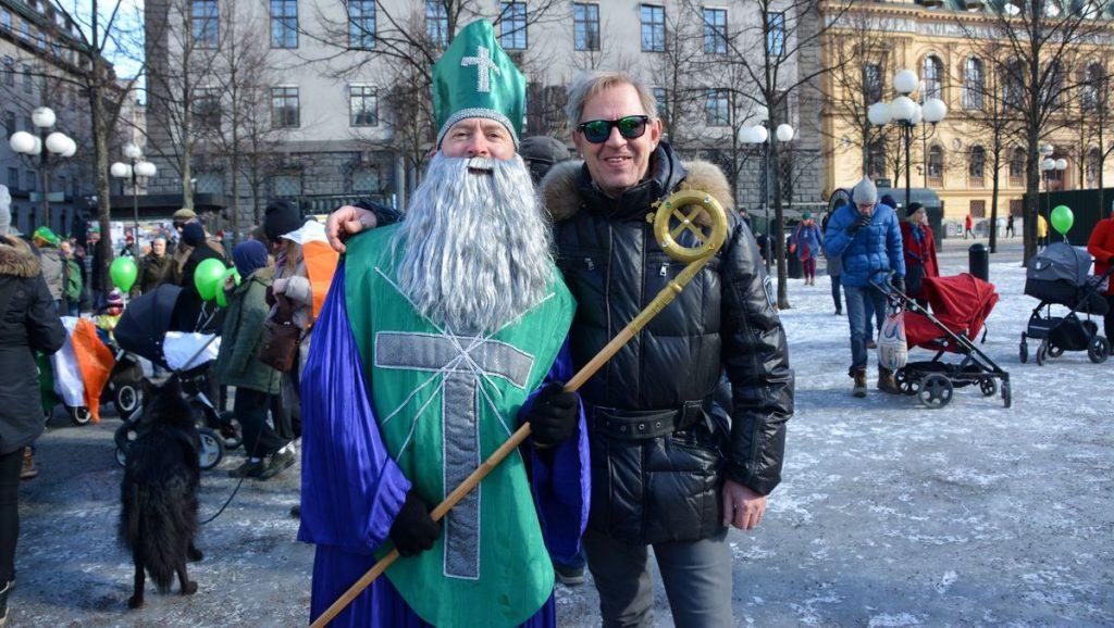 St Patrick och Peter i Kungsträdgården