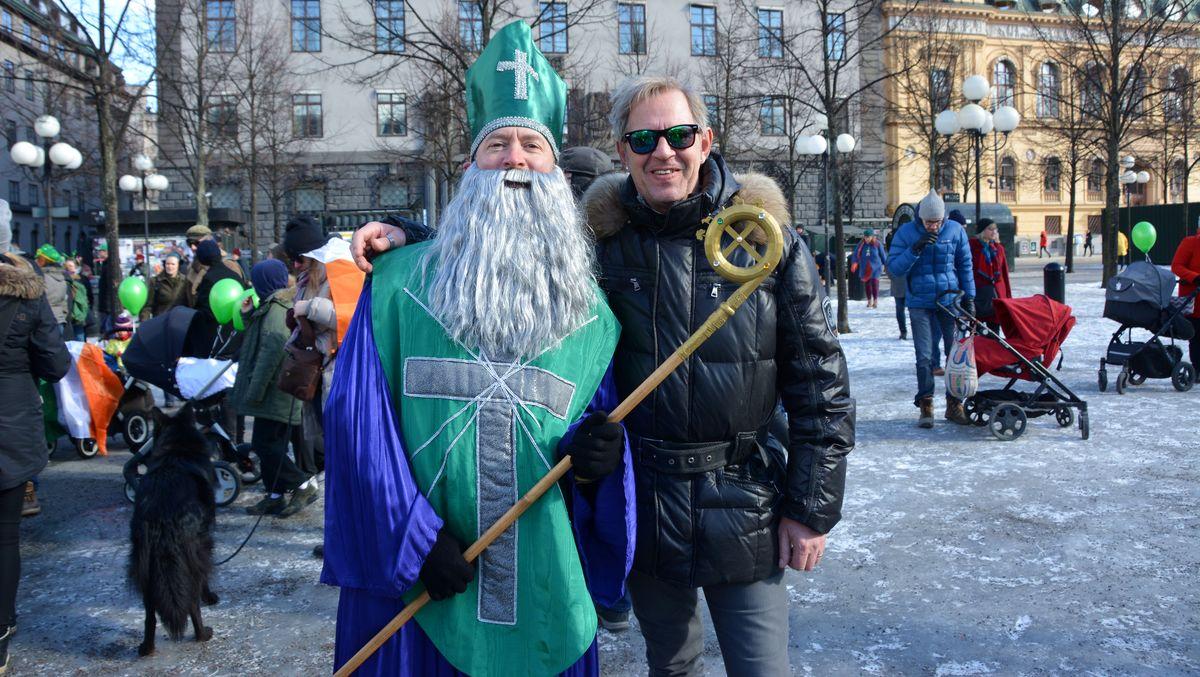 St Patrick och Peter i Kungsträdgården i lördags