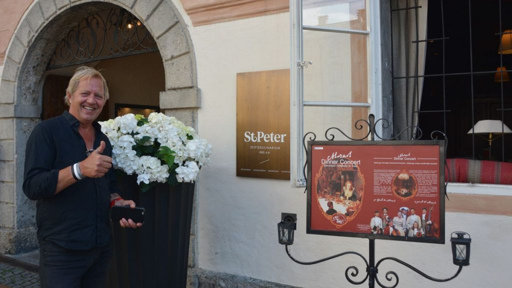 Stiftskeller St Peter i Salzburg