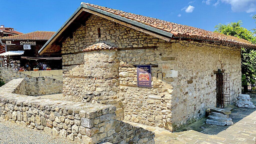 Göra i Nesebar i Bulgarien - St Spas church