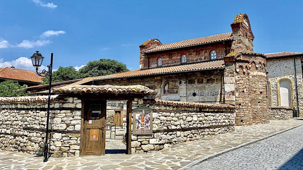 Göra i Nesebar i Bulgarien - Church of St Stephens
