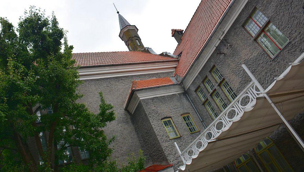 Stadsdumans hus i Pärnu i Estland