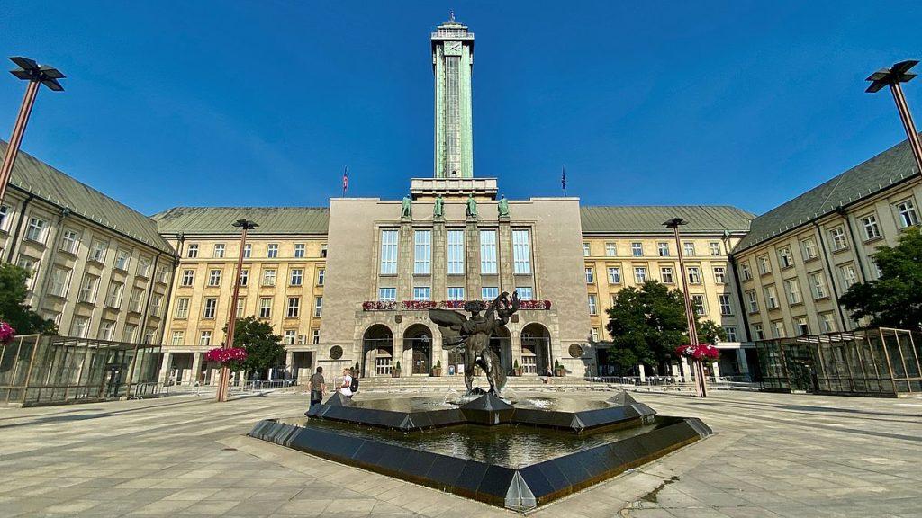 Stadshuset i Ostrava