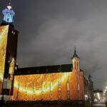Nobel Week Lights i Stockholm – ljus i mörkret