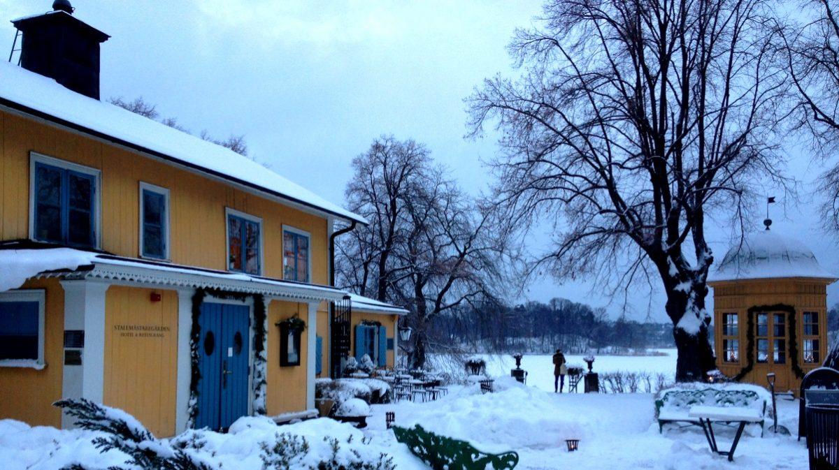 Konferens på Stallmästaregården i Stockholm