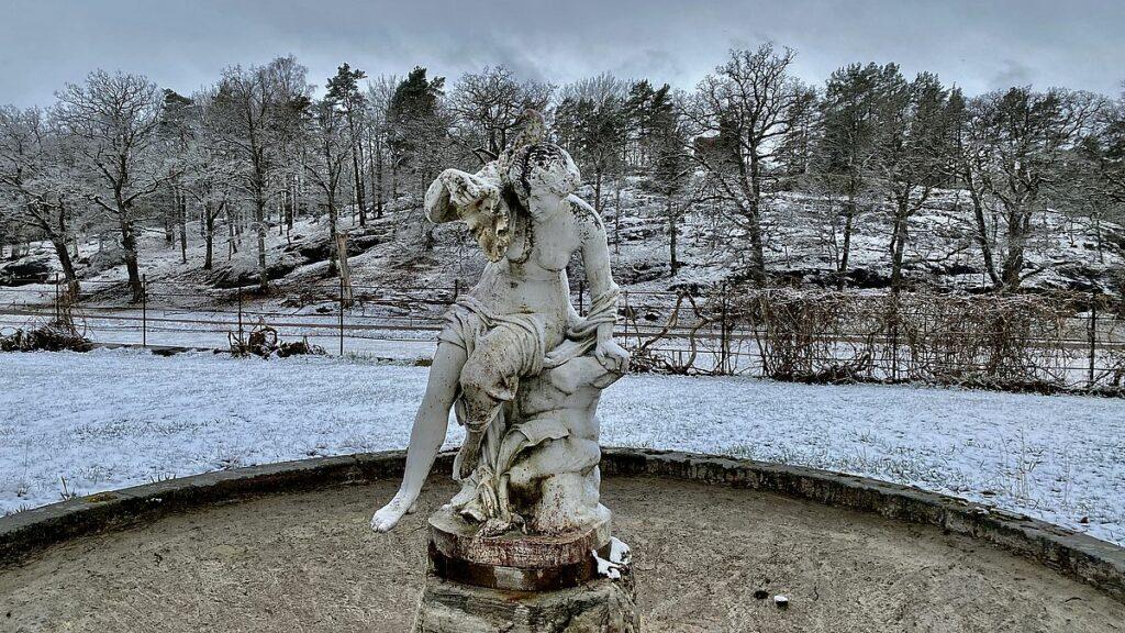 Slottsparken vid Nynäs slott