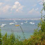 Båttur till Sainte-Marguerite, en av Lerin-öarna utanför Cannes