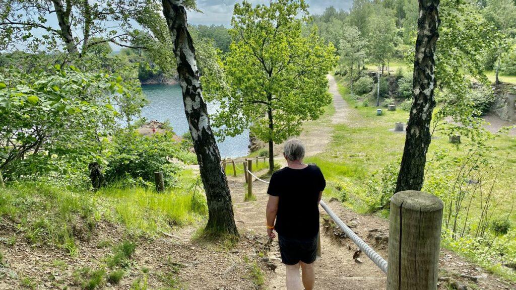 Dalby Stenbrott, nära Skrylle