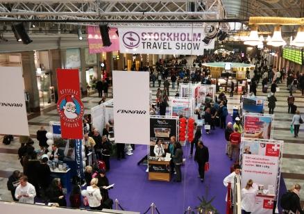 Stockholm Travel Show påT-centralen idag