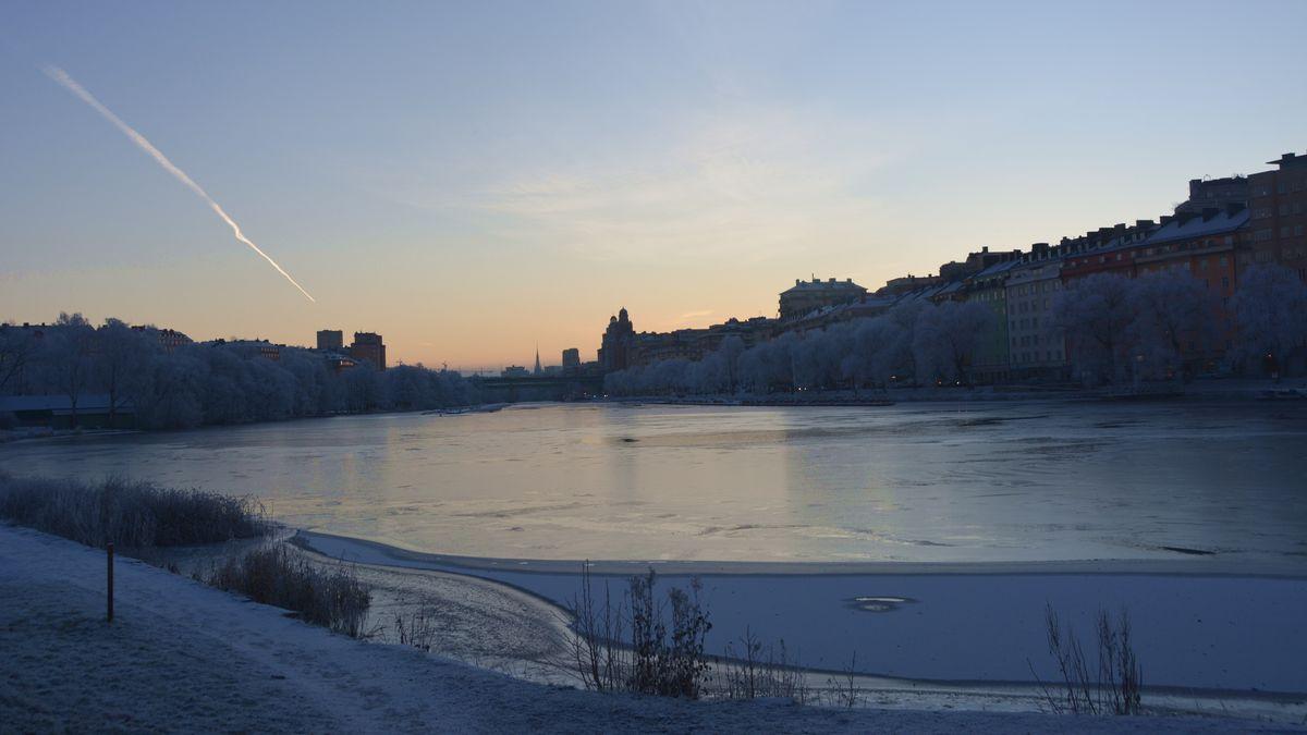 Stockholm januarimorgon