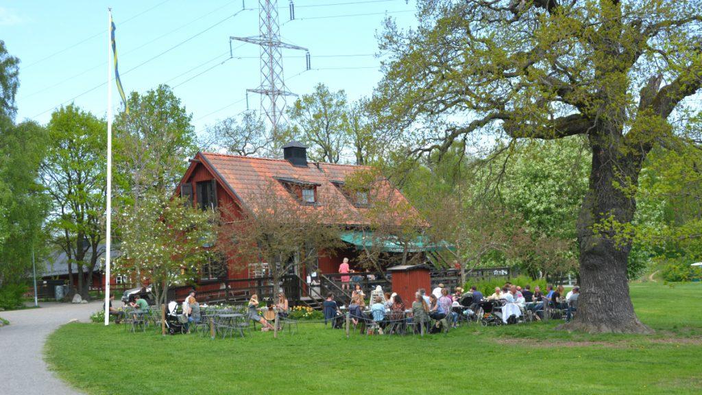 Restaurang Skafferiet vid Stora Skuggan