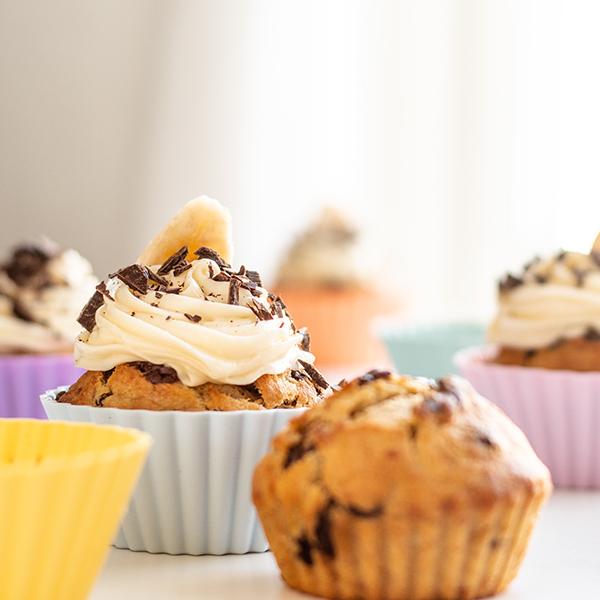 Stora muffinsformar pastell
