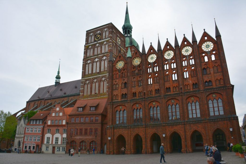 Torg i Stralsund