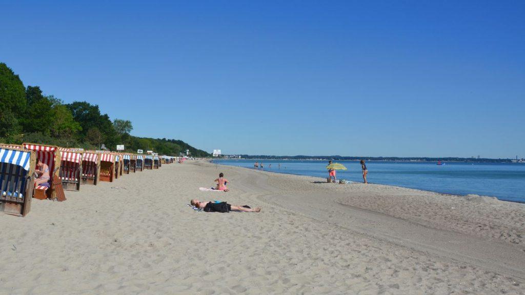 Strand Östersjön Tyskland