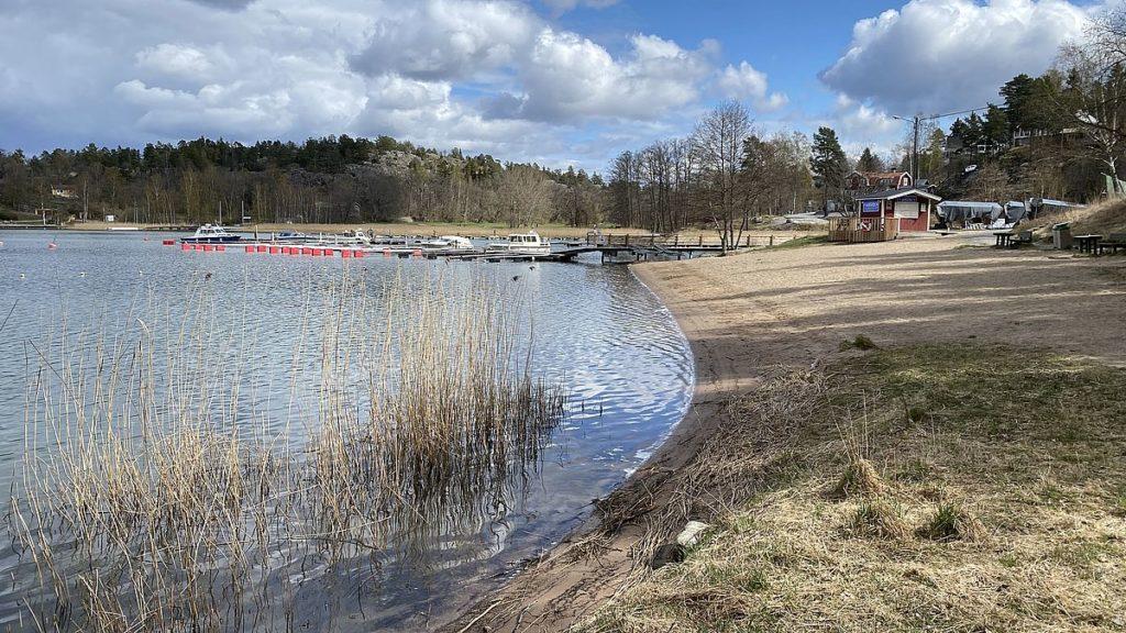 Strand - kulturstig i Värmdö