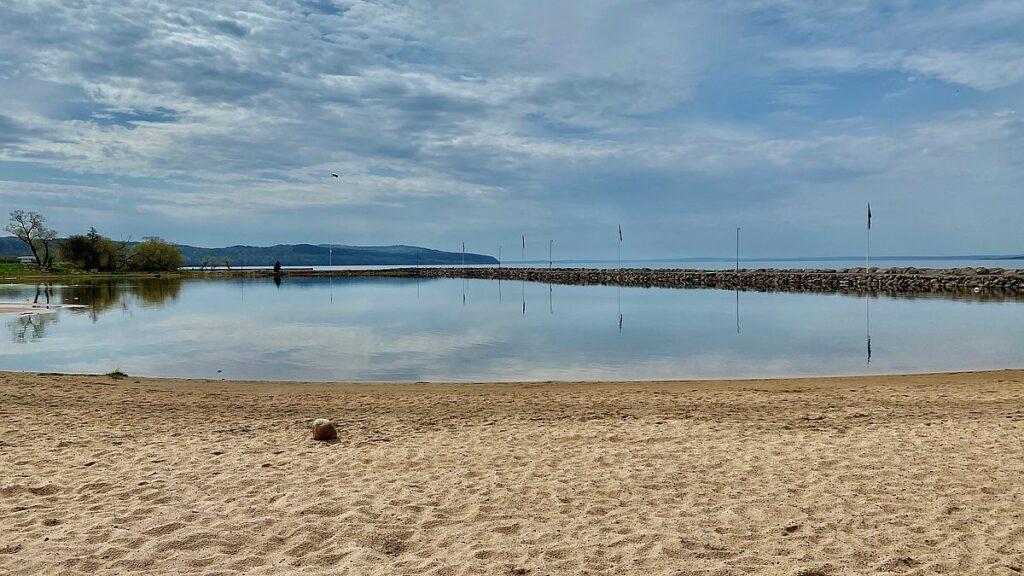 Göra i Gränna - strand