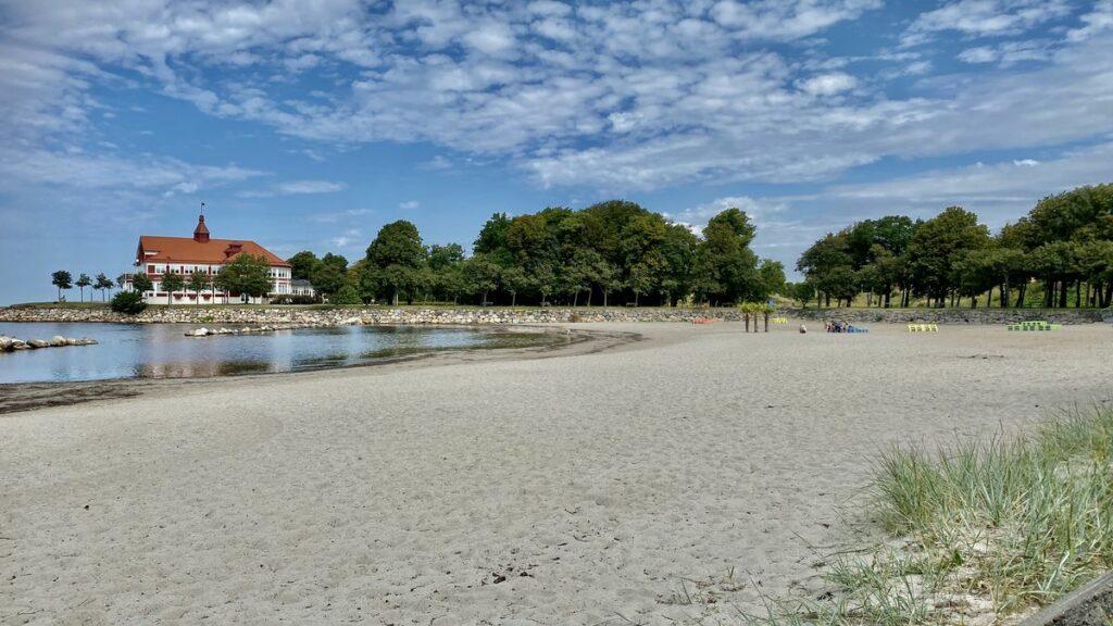Göra i Landskrona - sola och bada