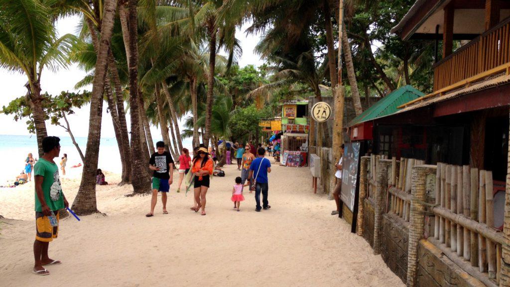 Boracay i Filippinerna