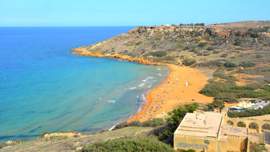 Paradisöar i Europa: Ramla bay på Gozo