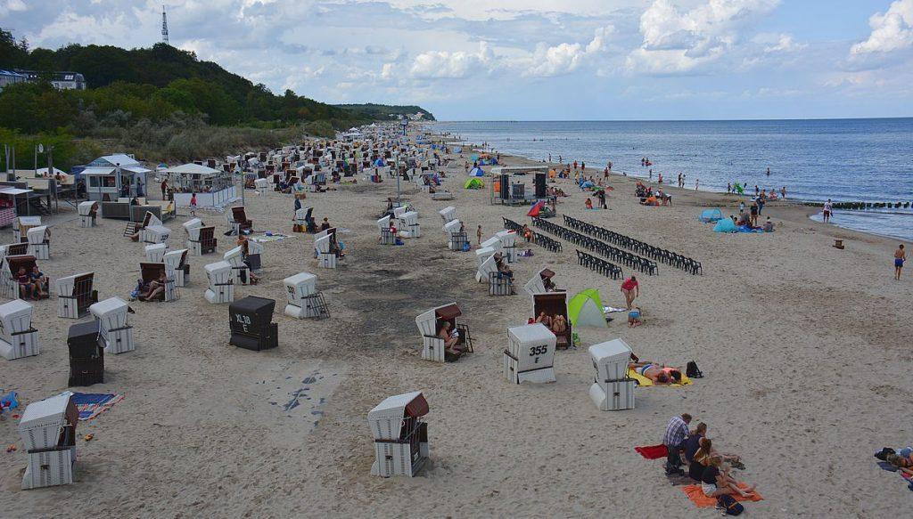 Stranden i heringsdorf