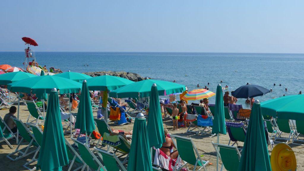Strand Ligurien